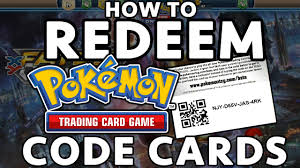 how to redeem tcg code cards updated 2016
