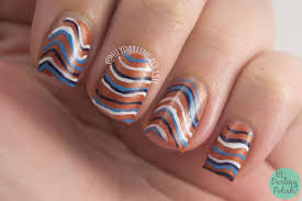 hey darling polish the nail challenge collaborative stripes