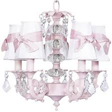 Childrens Pink Chandelier Pretty Pink Chandelier For Baby Nursery From Poshtots