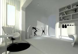 light gray post modern interior design rendering interior design