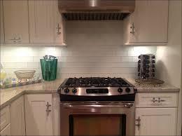 kitchen cool dark costco cabinets mosaic tile backsplash