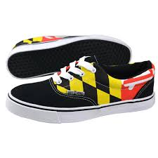Maryland Flag Socks Maryland Flag Black Shoes From Route One Apparel Maryland