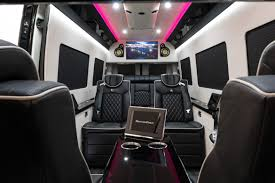 luxury minivan interior coaches bespoke coach luxury custom coaches sprinter van