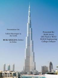 burj khalifa its engineering as well as architectural features and u2026