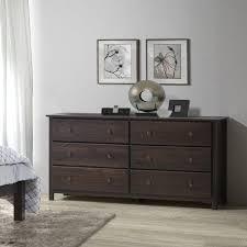 shaker 6 drawer dresser u2013 grain wood furniture