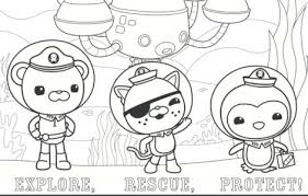 Coloring Page Octonauts Coloring Pages
