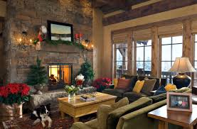 decoration ideas fascinating lodge living room decoration with