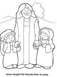 jesus loves children coloring kids church