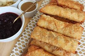 fryday thanksgiving egg rolls fortune goodies