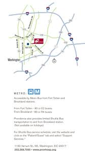 Metro Washington Dc Map by Map U0026 Directions Providence Hospital Metro Washington Dc Area