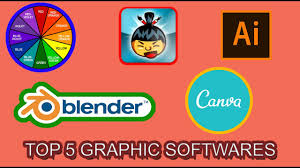 Top 5 Graphic Design Softwares Of 2017 Youtube