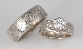 14k palladium white gold made custom 14k palladium white gold and sterling wedding