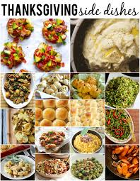 thanksgiving turkey dinner sides dishes best side for