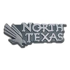 Barnes And Noble Unt University Of North Texas Chrome Car Emblem Products