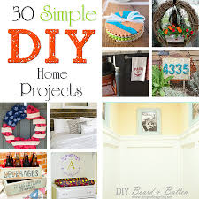 30 simple diy home projects kleinworth u0026 co