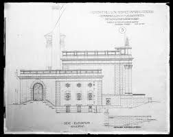 engineering plans chestnut hill low service pumping station plan