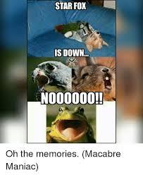 Star Fox Meme - star fox is down nooooooo star fox meme on me me