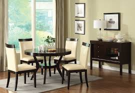 amazon com furniture of america galore 5 piece round table
