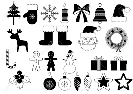 christmas icons royalty free cliparts vectors and stock