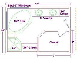 Master Bed And Bath Floor Plans Bathroom Design Floor Plans On Free 10x14 Master Bath Floor Plan