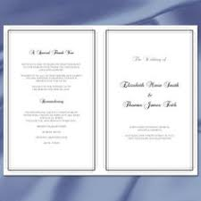 program template for wedding wedding program template vintage yellow by weddingtemplates the