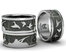 duck band wedding ring duck call bands custom duck rings engagement wedding and