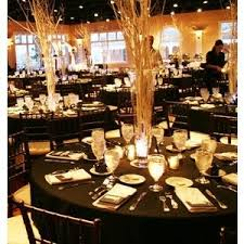 black and gold centerpieces for tables black white centerpieces wedding reception photos pictures