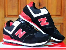 Jual Sepatu New Balance Di Yogyakarta jual sepatu sekolah new balance 574 anak hitam merah running nike