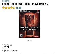 silent hill 4 the room video game ps2 mercari buy u0026 sell
