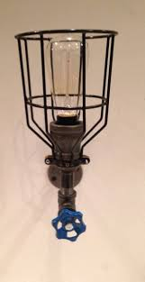 industrial pipe light fixture steunk industrial pipe light fixture with cage cutting edge
