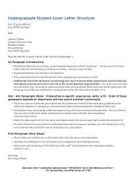 cover letter structure cover letter structure sample 7 examples