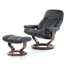 ekornes stressless recliner stressless magic chair and ottoman