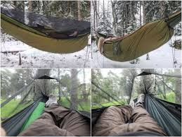 spending a night in a hammock in every season u2013 finland naturally