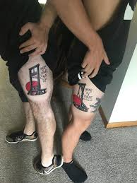 my brother and i got complimentary tattoos done by billy white