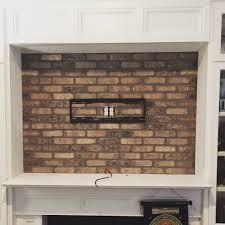 tv wall brick veneer accent charleston south carolina u2013 canter