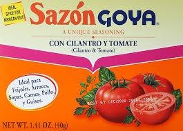 amazon com goya sazon con azafran 1 4 oz mexican seasoning