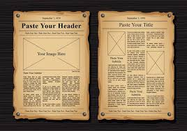 old newspaper template newspaper for illustrator 1 newspaperfix