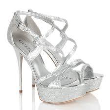 guess silver gw duriany women u0027s platform sandal