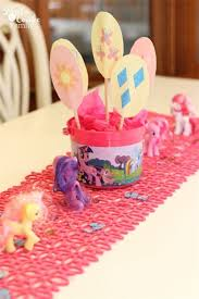 My Little Pony Party Centerpieces by 25 Best My Little Pony 5th Birthday Party Images On Pinterest