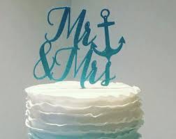 nautical cake nautical cake topper etsy