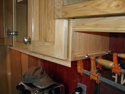 kitchen cabinet door trim molding under cabinet trim molding light rail on upper cabinets above the