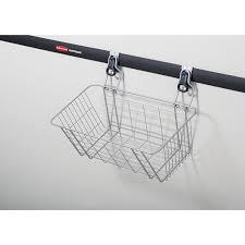 Rubbermaid Kitchen Cabinet Organizers Amazon Com Rubbermaid Fasttrack Garage Storage Wire Mesh Basket