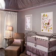purple nursery transitional nursery little crown interiors