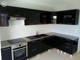 cuisine équipé beautiful cuisine equipee noir laque contemporary design trends