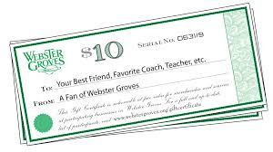 gift certificates gift certificates webster groves mo official website
