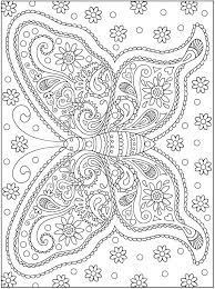 designs coloring pages creative butterfly mandalas coloring