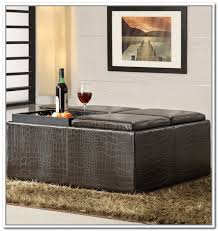 square storage ottoman with tray extra large storage ottoman bonners furniture with plan 3