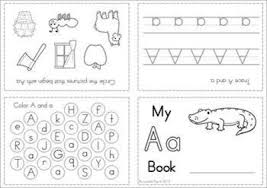 alphabet letter activity booklets these cute foldable min