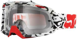 motocross fox clothing fox air space mx goggle black mat goggles motocross fox bmx gear