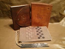 leather bound photo book leather bound book with replaceable pages and built in checkers